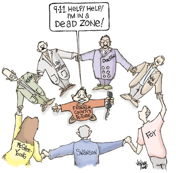 Editorial Cartoon: Disconnected
