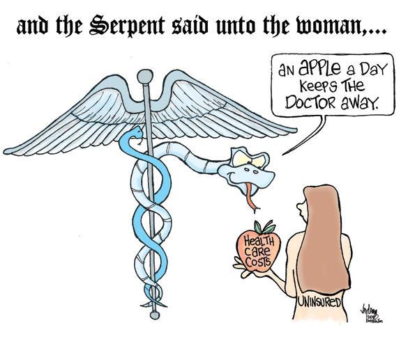 Editorial Cartoon: Cost of Living