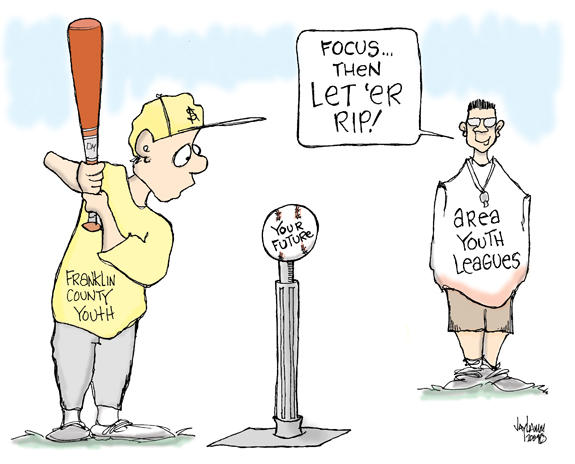Editorial Cartoon: Stepping Up to the Plate