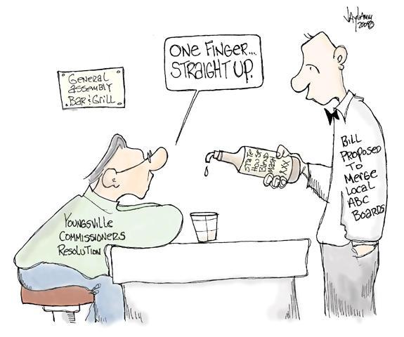 Editorial Cartoon: Sour Mash