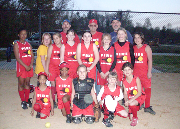 Franklin County Fire  softball is heating up