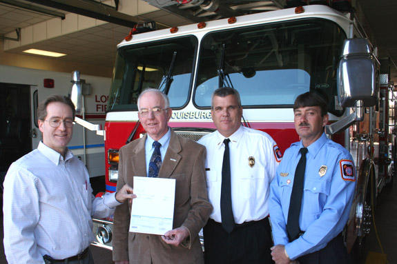 Louisburg Fire Department to bolster fire prevention efforts with FM Global Grant