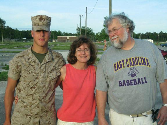 Sayles graduates Marine boot camp