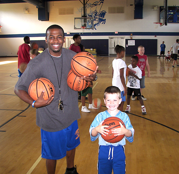 FCPR HOSTS HOOPS CAMP