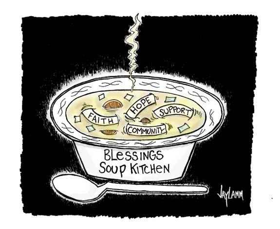 Editorial Cartoon: Souper!