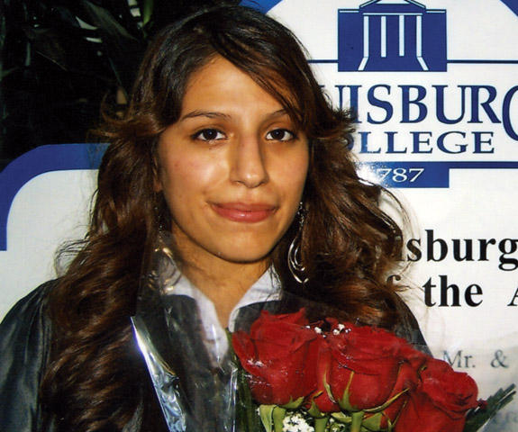 Lissette Alvarez graduates from Louisburg College