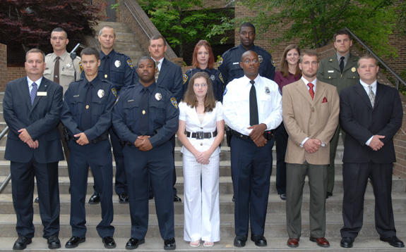 87th Basic Law Enforcement Training class graduates
