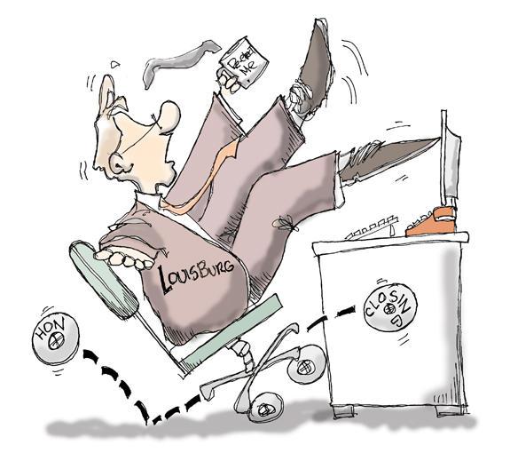 Editorial Cartoon: Running on Empty
