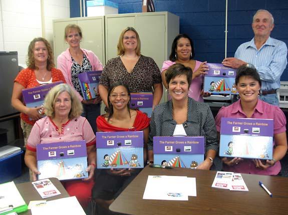Franklin County Farm Bureau donates new teaching kits and holds training for teachers