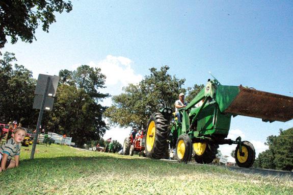 Antique tractors never get old