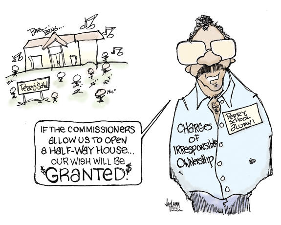 Editorial Cartoon: Rent to Groan