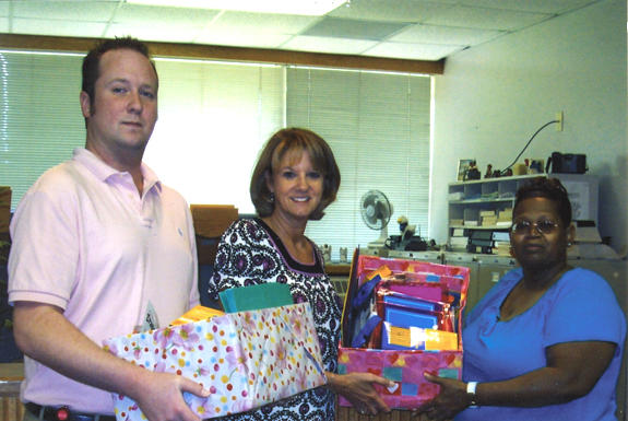 DONATIONS PRESENTED