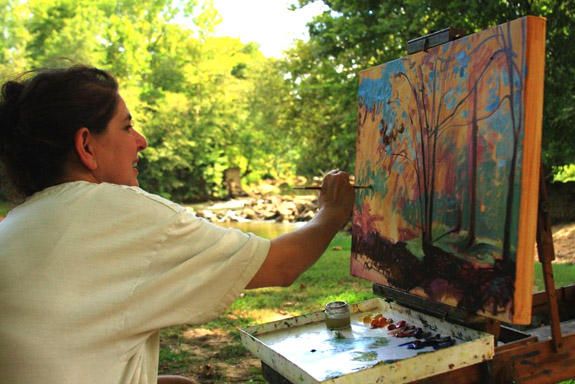 Art sale to benefit land conservancy