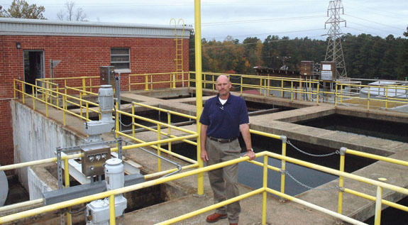 Town of Franklinton taps new water plant superintendent