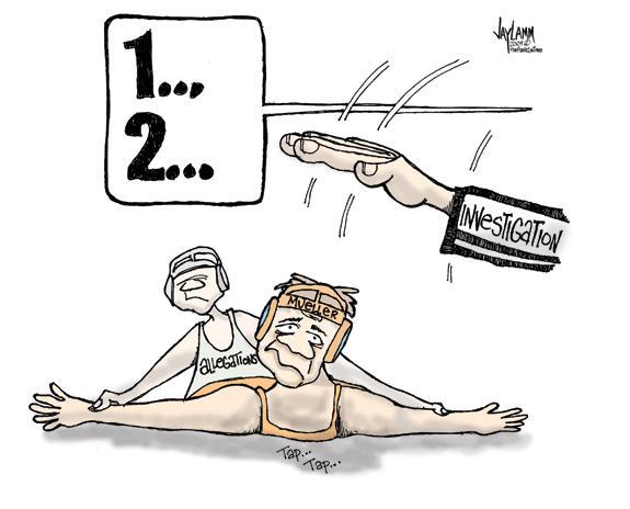 Editorial Cartoon: Phillip Mueller's Day Off