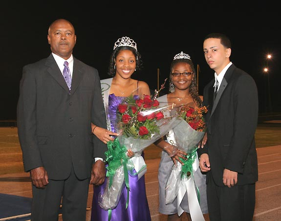 BUNN HIGH SCHOOL HOMECOMING HONOREES