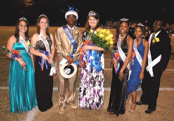 LOUISBURG HIGH SCHOOL HOMECOMING HONOREES
