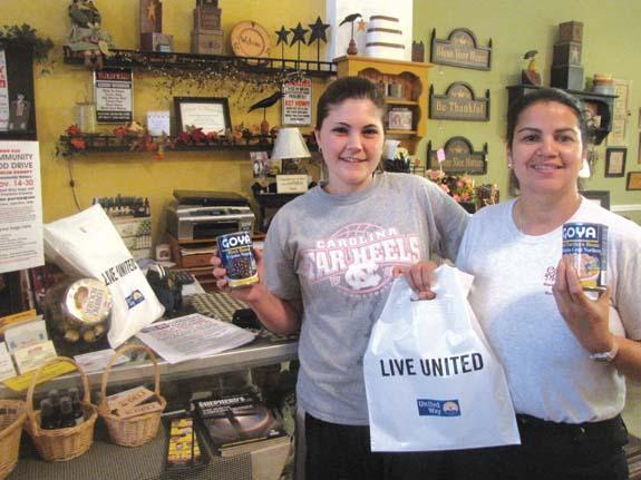 United Way food drive underway