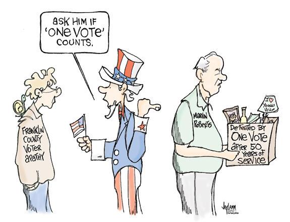 Editorial Cartoon: Roberts Rule of Order