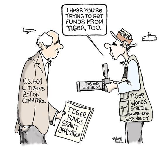 Editorial Cartoon: Snap!