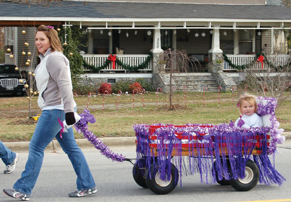More photos from Alert and Bunn Christmas parade