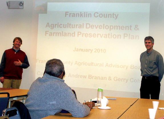 County farmland preservation plan discussed