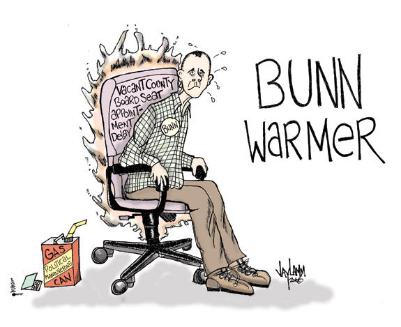 Editorial Cartoon: Sticky Bunn