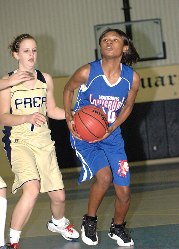 LHS girls top RMP on road