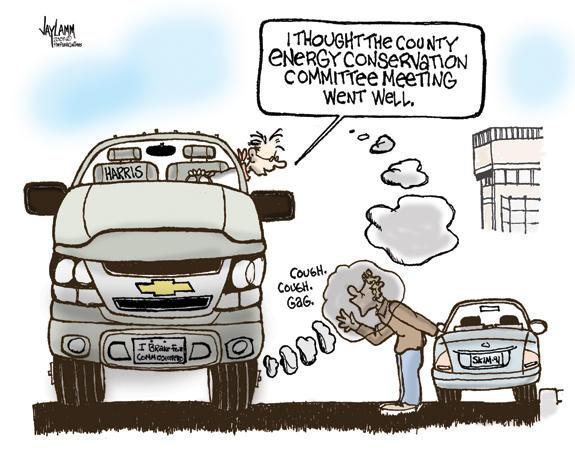 Editorial Cartoon: Seekin Money Anyway We Can