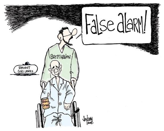 Editorial Cartoon: Air Ball