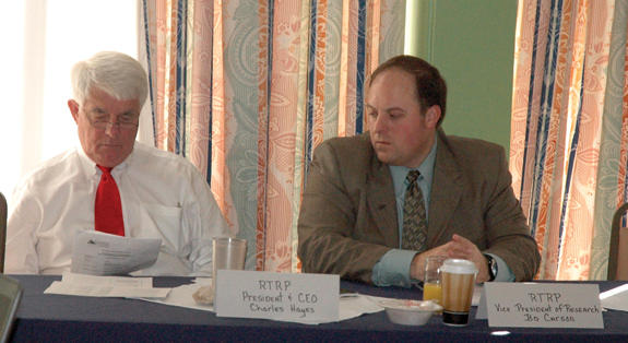 Retreat focuses on economic development