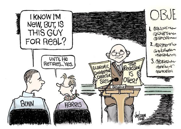 Editorial Cartoon: Minimum Wage Sage