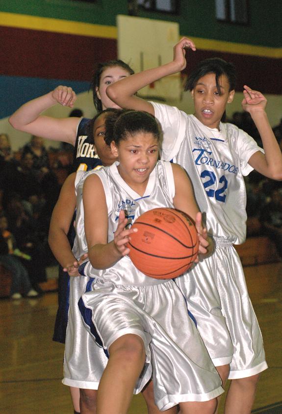 Lady Hornets edge Terrell Lane's girls