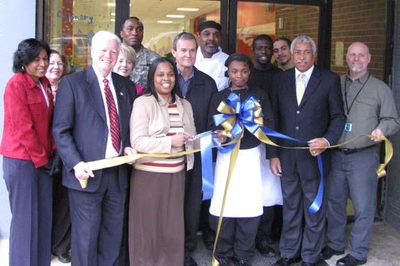 Kittrell Job Corps ribbon cutting