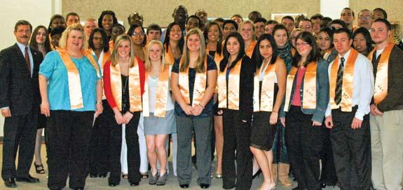 Louisburg College inducts new members into honor society