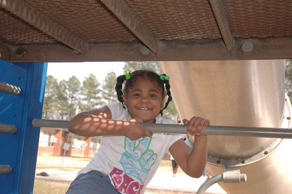 Smiling face at Boys and Girls Club