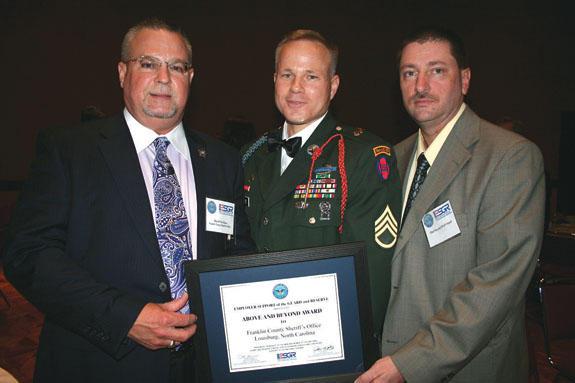 Sheriff's Department receives Patriot Award