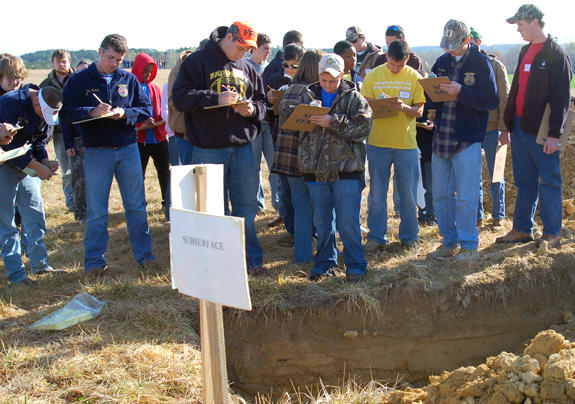 BHS Hosts 56th Annual NC Land Judging contest, school from Tokyo visits