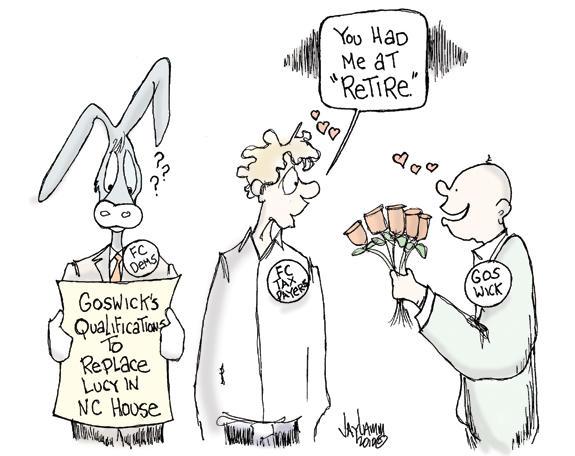 Editorial Cartoon: Beggar and Choosers