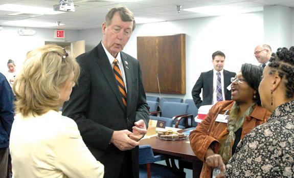 Etheridge discusses local health care collaborative effort