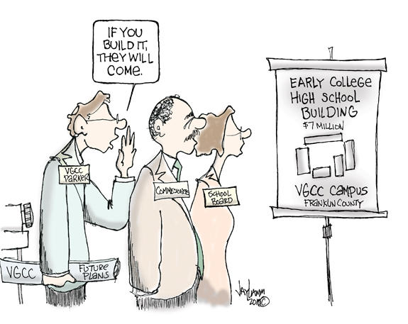 Editorial Cartoon: Field of Schemes