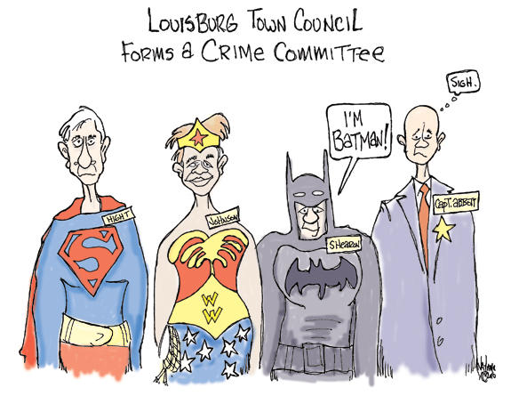 Editorial Cartoon: BAM POW BIFF BOOM