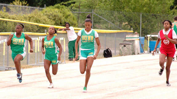 BUNN SWEEPS TITLES