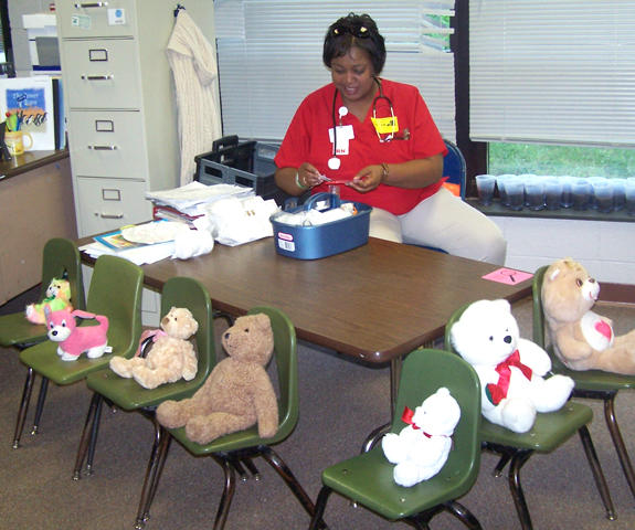 Franklin Regional Medical Center holds annual Teddy Bear clinic