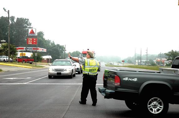 Gas leak shuts down US 1 near Franklinton