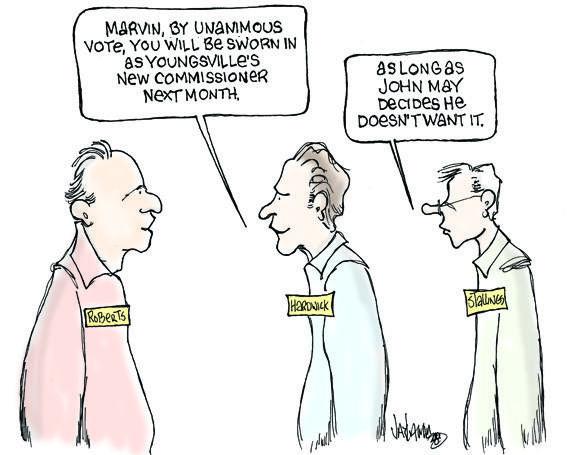Editorial Cartoon: Mother May I