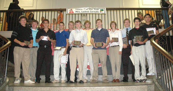 FRANKLINTON HIGH SCHOOL MALE AWARD WINNERS