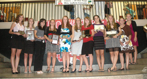 FRANKLINTON HIGH SCHOOL FEMALE AWARD WINNERS