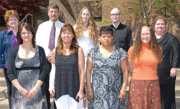 VGCC Students inducted into Honor Society