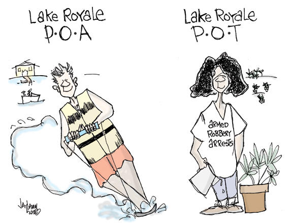 Editorial Cartoon: Hydro Sports